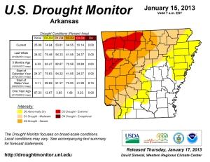 Image courtesy U.S. Drought Monitor.