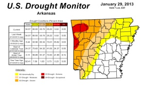 Image courtesy U.S. Drought Monitor.